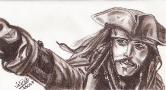 Johnny Depp by mystique1981